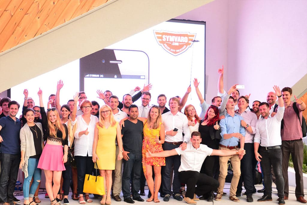 Startups in action at the Expo 2015