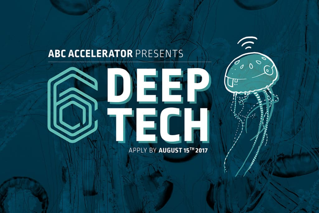 6th program Deep Tech now accepting applications!